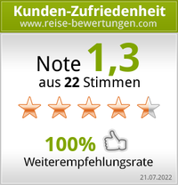Kundenbewertungen von reise-bewertungen.com